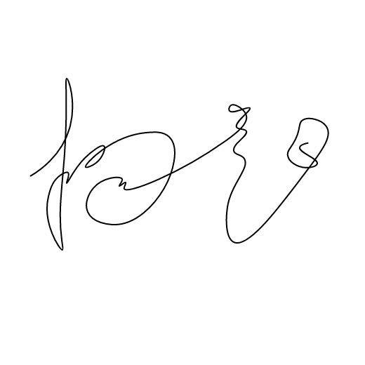 使用 SVG 实现手写签名动画效果